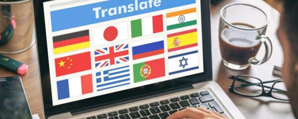 traduire des documents en anglais